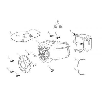 Fläktkåpor - Luftintag