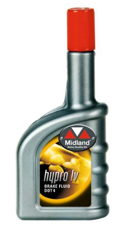 Midland bromsvätska DOT4 375ml