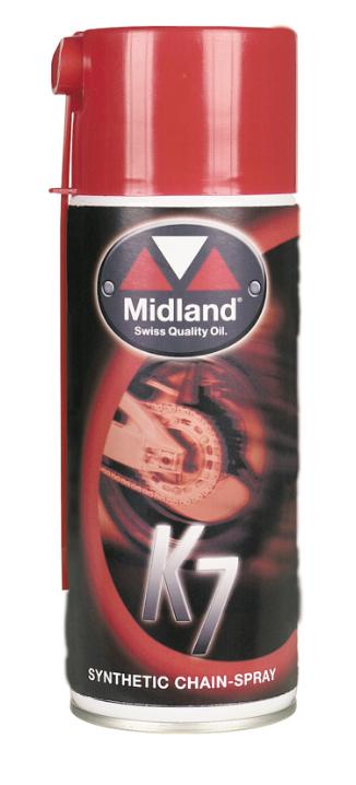 Midland K7 Synthetic Chain Spray 400ml