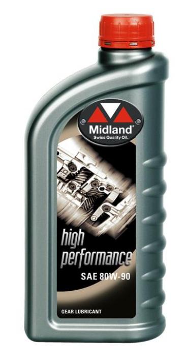 Midland 80w-90 High Performance 1L